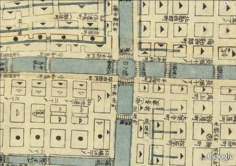 La magie des cartes historiques de Rumsey  - Page 2 Osaka10