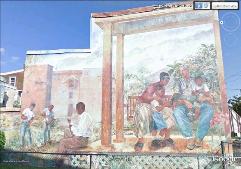 STREETVIEW : les fresques murales de Philadelphie  - Page 5 Our_ba11