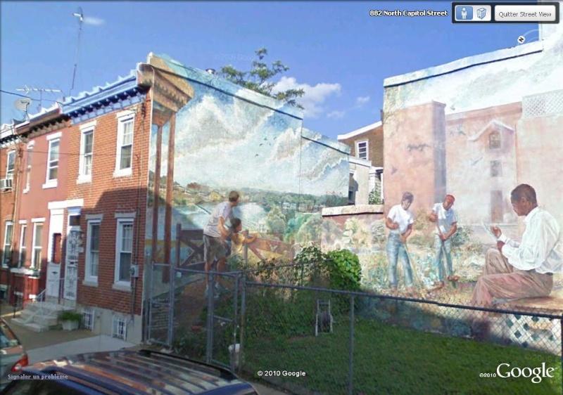 STREETVIEW : les fresques murales de Philadelphie  - Page 5 Our_ba12