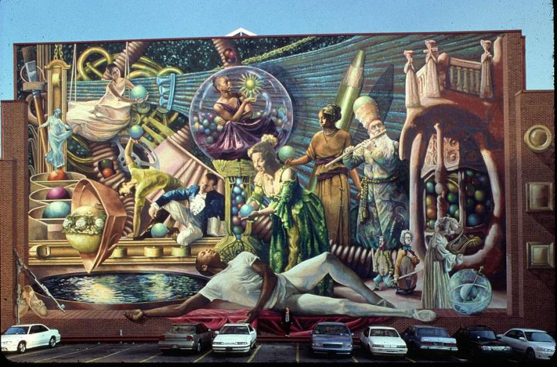 STREETVIEW : les fresques murales de Philadelphie  - Page 4 Philad10