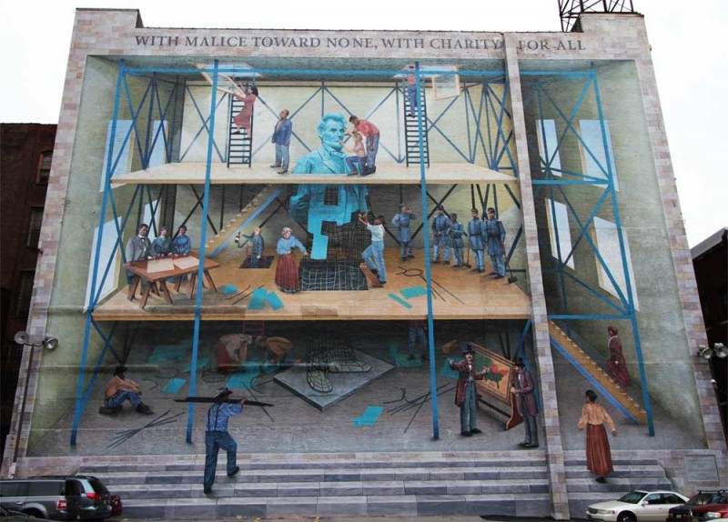 STREETVIEW : les fresques murales de Philadelphie  - Page 4 Philly10