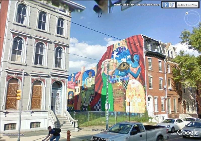 STREETVIEW : les fresques murales de Philadelphie  - Page 5 Poetry12