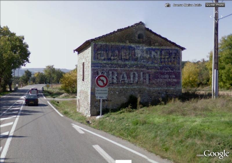 STREET VIEW : Vieilles publicités murales - Page 2 Pradel10