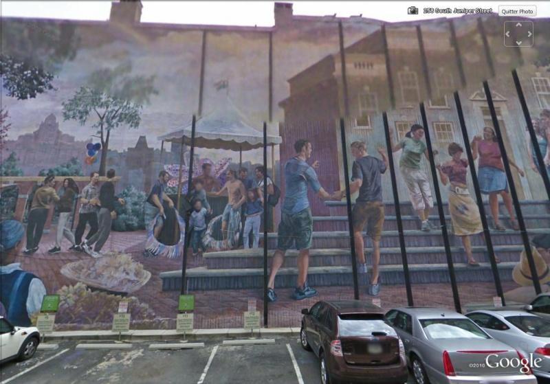 STREETVIEW : les fresques murales de Philadelphie  - Page 4 Pride210