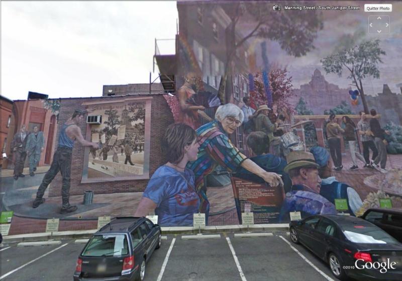 STREETVIEW : les fresques murales de Philadelphie  - Page 4 Pride_11