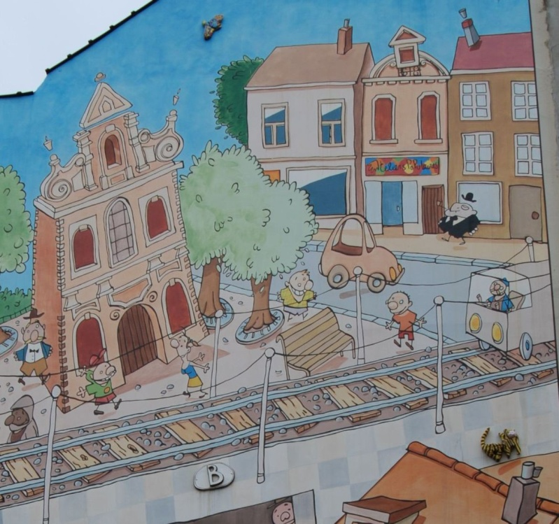 Les parcours BD de Bruxelles, Laeken et Anvers - Page 4 Projet11