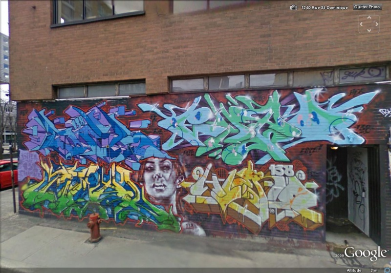 STREET VIEW : les fresques murales - MONDE (hors France) - Page 3 Rato10