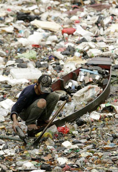 Le fleuve Citarum (Indonésie), le plus pollué du monde Sea-of12