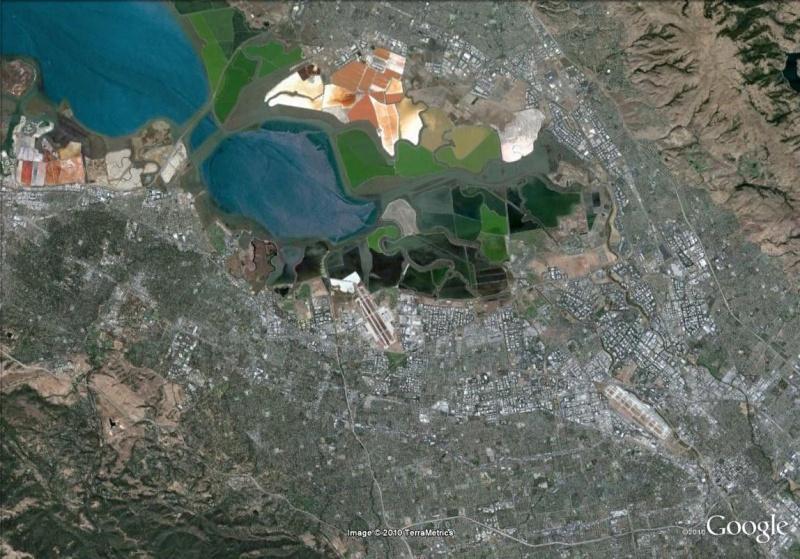 Google Earth... il y a cinq ans Silico12