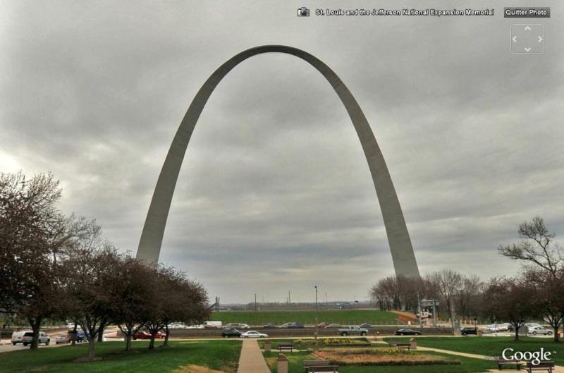 Monument emblématique des villes, région, pays St_lou10