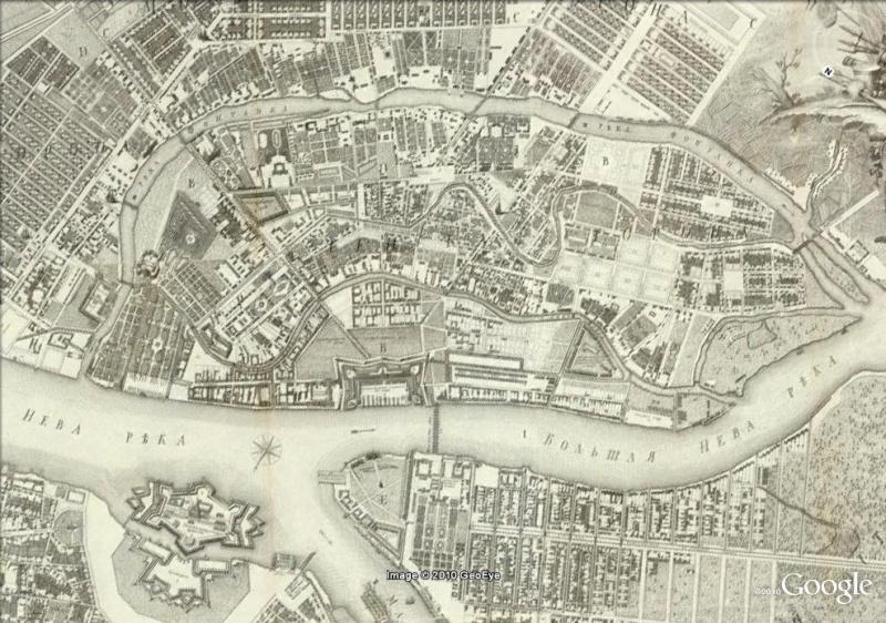 La magie des cartes historiques de Rumsey  - Page 3 St_pet10