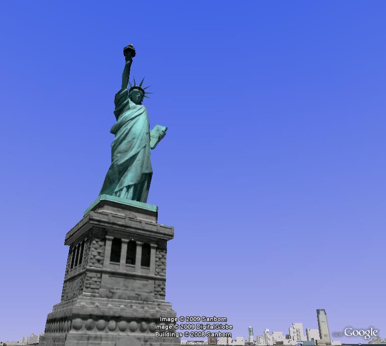 Monument emblématique des villes, région, pays Statue10