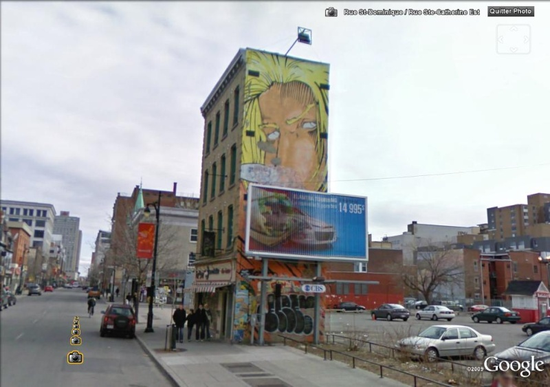 STREET VIEW : les fresques murales - MONDE (hors France) - Page 2 Stecat10