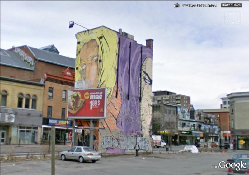 STREET VIEW : les fresques murales - MONDE (hors France) - Page 2 Stecat12