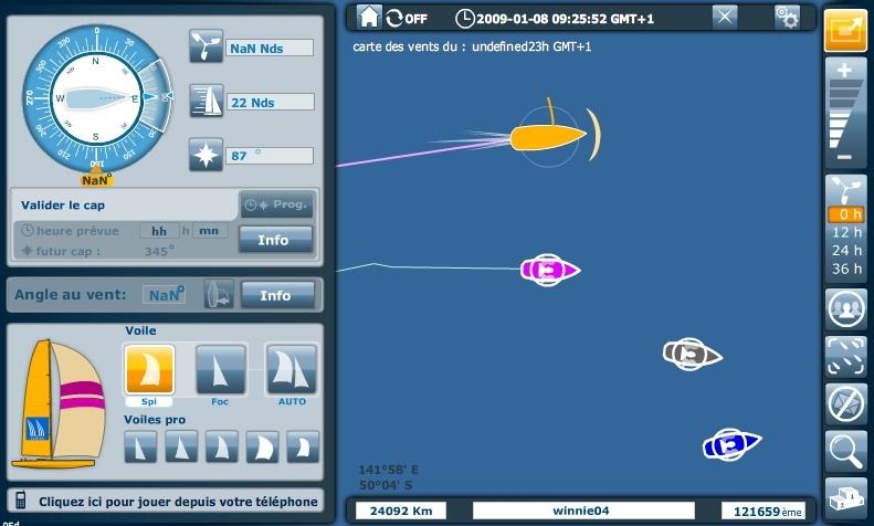 Vendée Globe 2008 : régate virtuelle - Page 34 Vent210