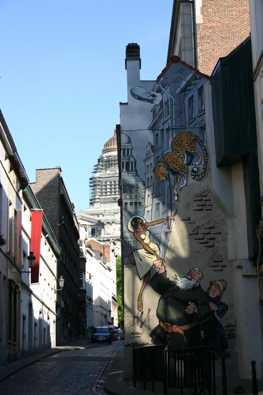 Les parcours BD de Bruxelles, Laeken et Anvers - Page 3 Verjus10
