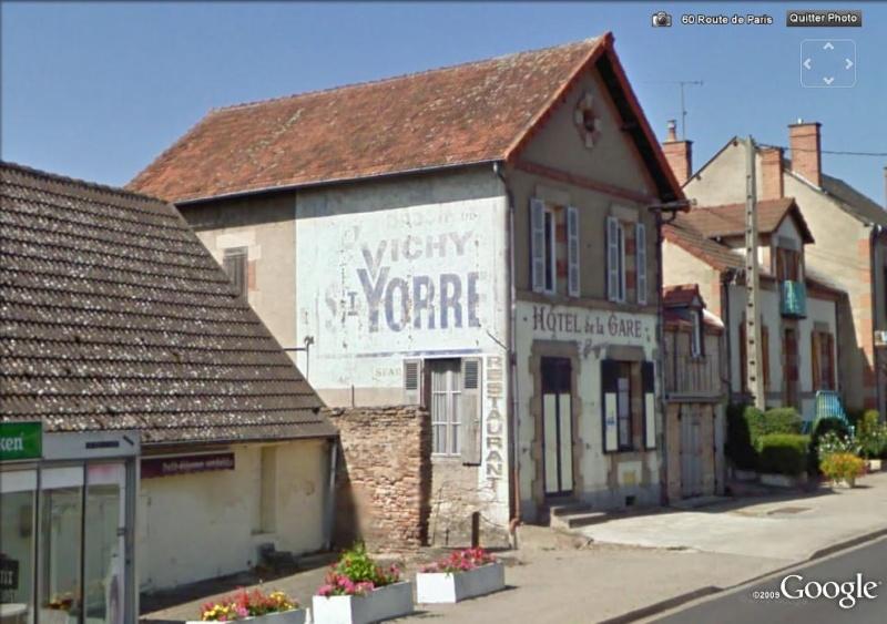 STREET VIEW : Vieilles publicités murales Vichy_10