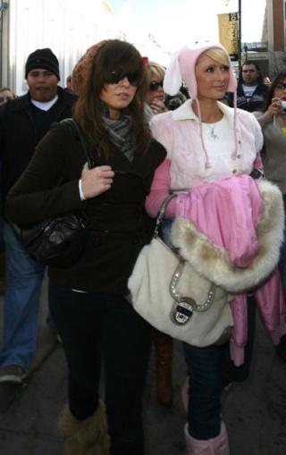 Paris Hilton's  new BFF Paris-12
