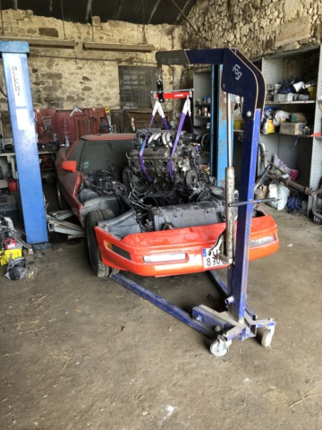remplacement moteur C4 1991 TPI Moteur10