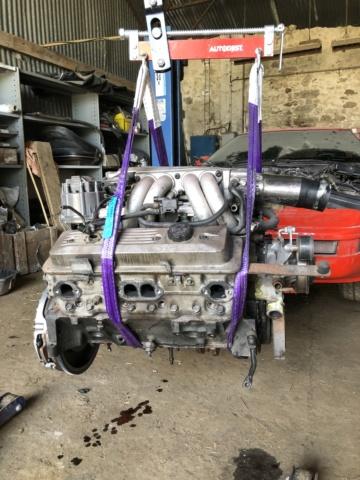 remplacement moteur C4 1991 TPI Moteur11