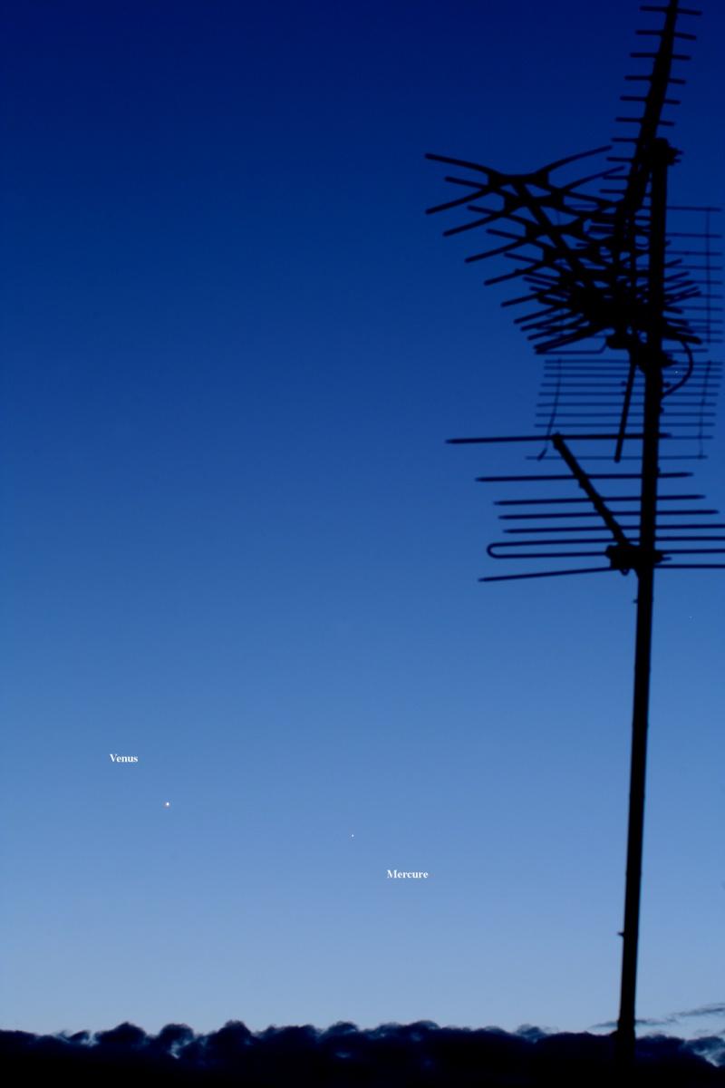 Rapprochement Venus Mercure Object13