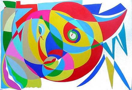 Défi-peinture abstraite 14329010