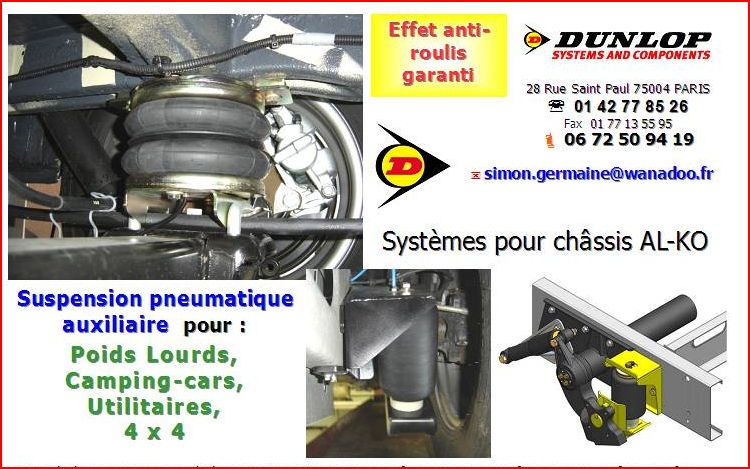 AMORTISSEUR AIR DUNLOP IVECO +++++ Pneuma10