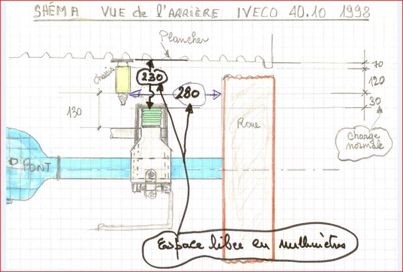 PONT & AMORTISSEURS IVECO 4x4 + Master- vac Pont_i10