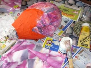 Piñata / pignata anniversaire enfant P1020421