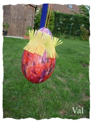 Piñata / pignata anniversaire enfant P_lou_10