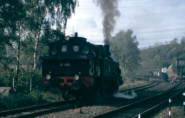 Dampflok 74 1192 in Witten 742bod10
