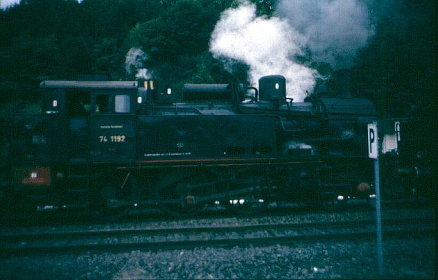 Dampflok 74 1192 in Witten 74_110