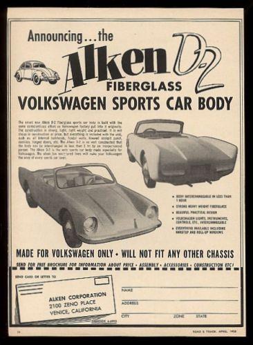 VW ALKEN D2 Rodster 1958 Bcd9c410
