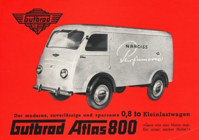 Gutbrod Atlas 800 1950 Gutbro13