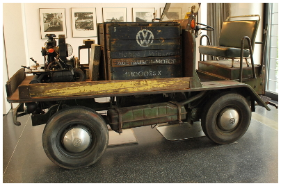 Plattenwagen Vw-aus10