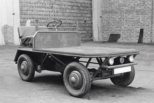 Plattenwagen Vw-pla10