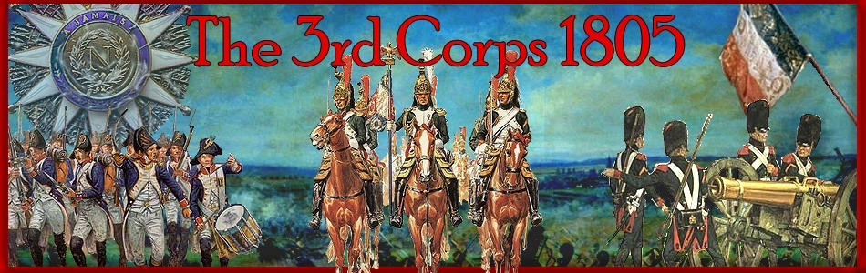 The 3rd Corps 1805