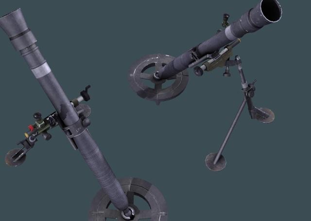 Des mortiers en prévision Redend10