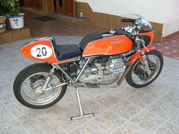 Guzzi... juste l'essentiel des Café Racer - Page 3 15286810