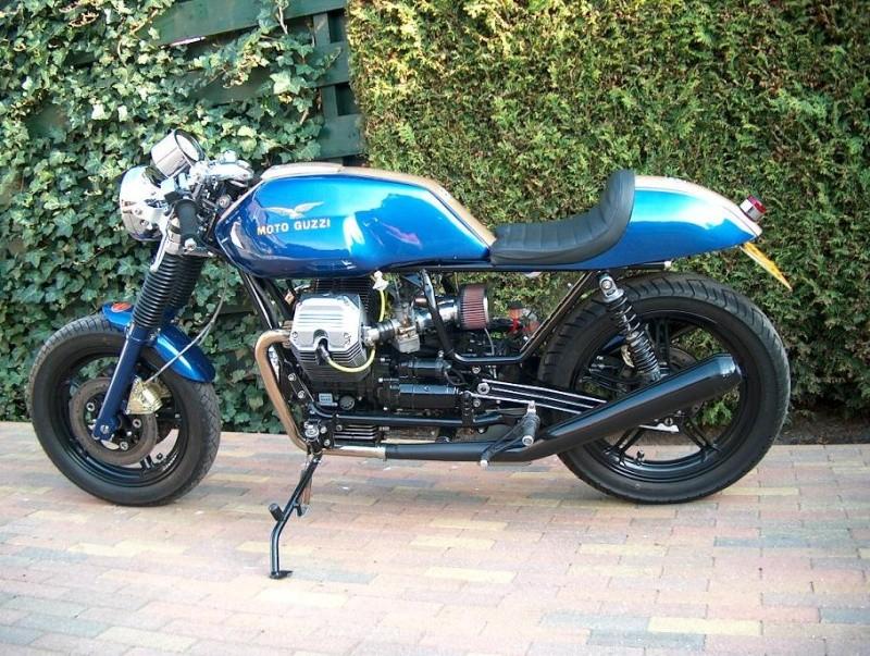Guzzi... juste l'essentiel des Café Racer - Page 3 99705610