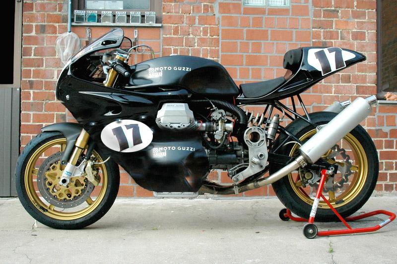 Guzzi... juste l'essentiel des Café Racer - Page 5 Dsc61710