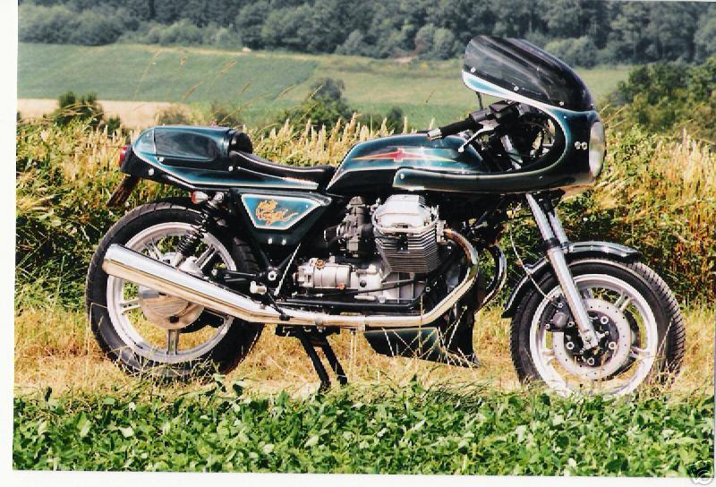 Guzzi... juste l'essentiel des Café Racer - Page 5 Guzrac10