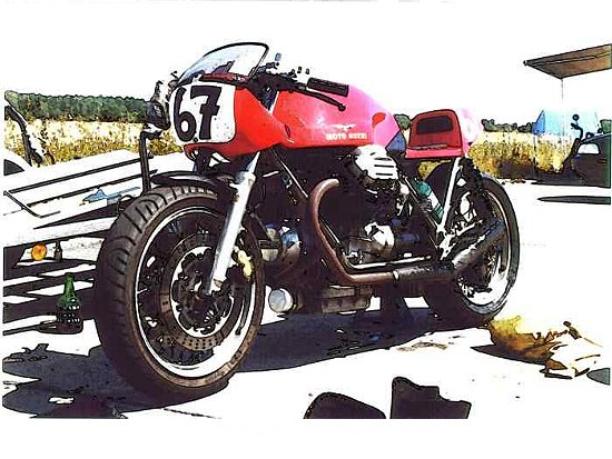 Guzzi... juste l'essentiel des Café Racer - Page 5 Guzyah10