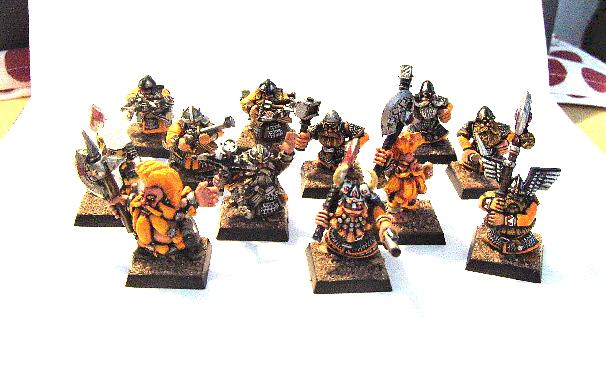 Drakbars Dwarfs Ryhma10