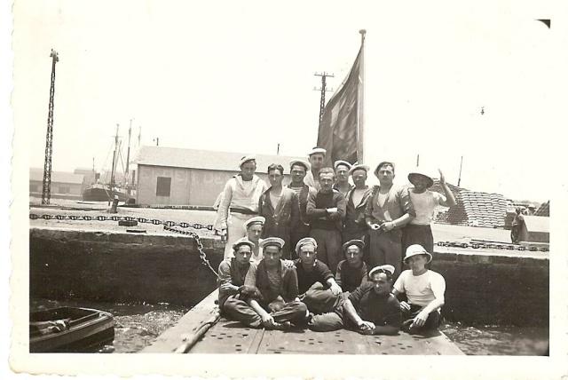 SOUS MARIN LE GLORIEUX EN 1940 Dakar-11