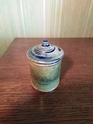 soda glazed lidded pot Pot10