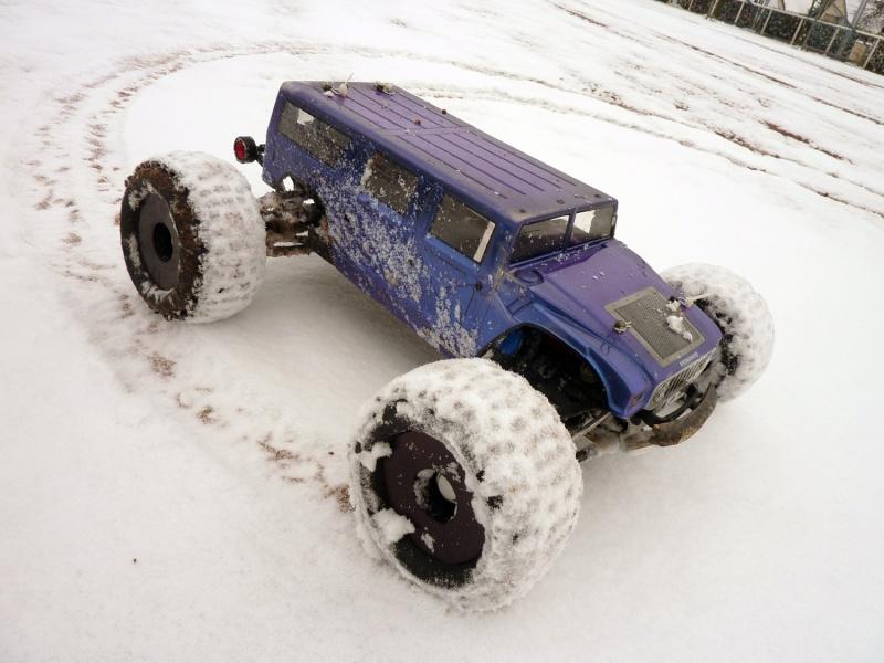 B Revo> Petite Sortie dans la neige 29/11/2010 P1010418