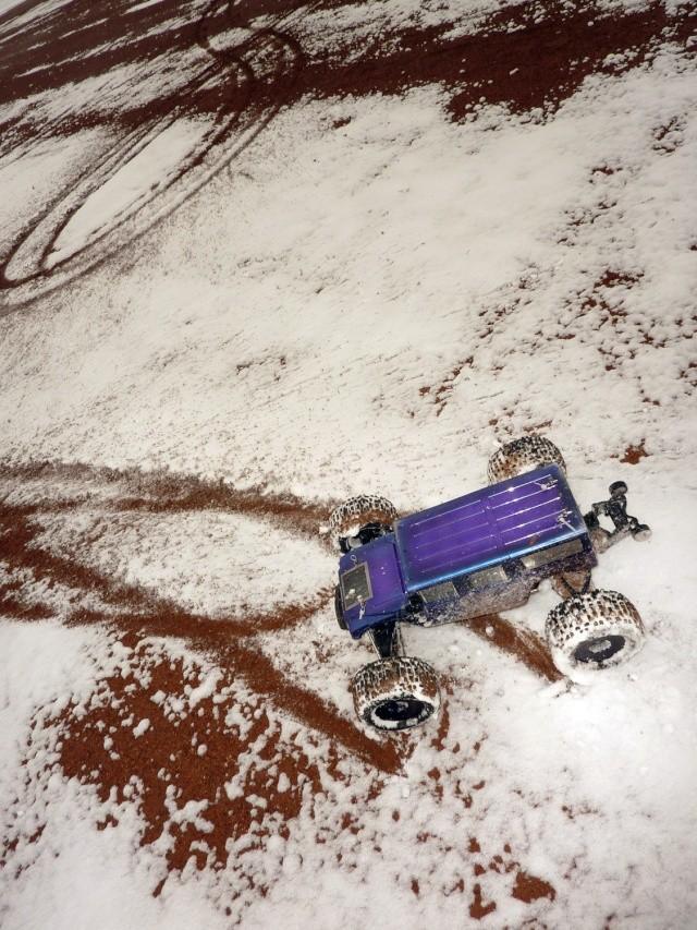B Revo> Petite Sortie dans la neige 29/11/2010 P1010421