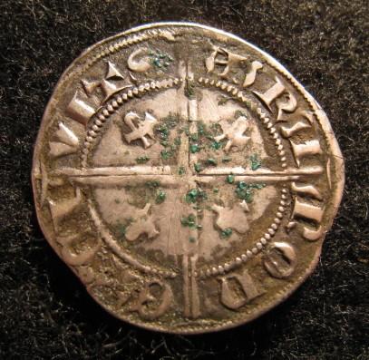 CARLIN ou GROS Gillat de billon pour Raymond IV (1340-1393) Img_0413
