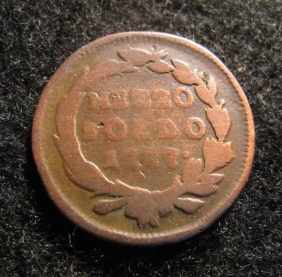 Mezzo soldo 1777 Marie-Thérèse d'Autriche (1740-1780)- MILAN Mezzo_11